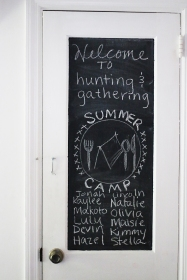 Hunting&GatheringWelcomeBoard